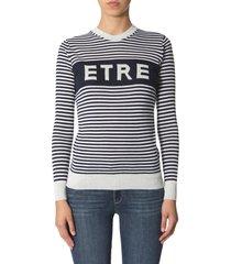 etre cecile striped sweater