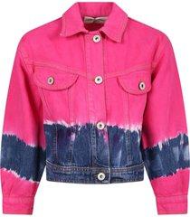 alberta ferretti multicolor jacket for girl