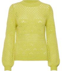 nubexley pullover stickad tröja grön nümph