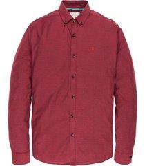 long sleeve shirt cf oxford brick red