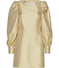 aidy korte jurk goud baum und pferdgarten