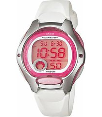reloj digital blanco casio