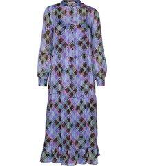 lr-gamma jurk knielengte paars levete room