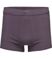 knit trunk print swimwear briefs & speedos blå tommy hilfiger