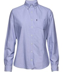 sarah oxford shirt overhemd met lange mouwen blauw lexington clothing