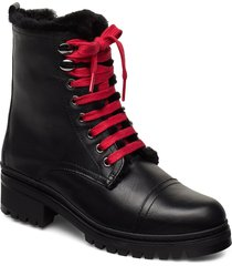irache_clf shoes boots ankle boots ankle boots flat heel svart unisa