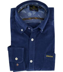 overhemd denim blauw new zealand waitahora