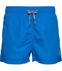 logo swim shorts lightweight badshorts blå gant