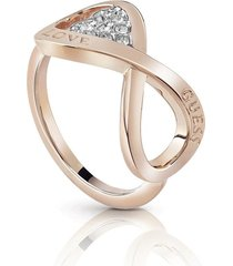 anillo guess endless love/ubr85005-56 - oro rosa