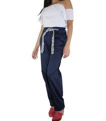 pantalón amplio aranzazu coti azul
