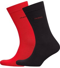 2p rs uni cc underwear socks regular socks röd hugo