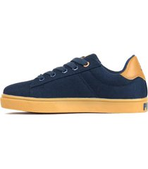 zapatilla azul topper capitan canvas