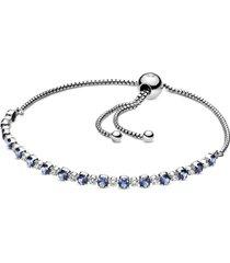 bracelete ajustavel brilhante constelação azul