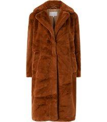 fuskpäls vikoda faux fur coat