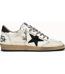 golden goose deluxe brand sneakers ball star colore bianco nero