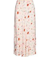 alsop skirt aop 8325 lång kjol rosa samsøe samsøe