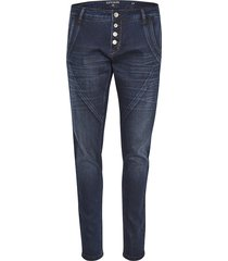 cream bailey power stretch jeans dark blue