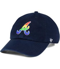 '47 brand atlanta braves pride clean up cap