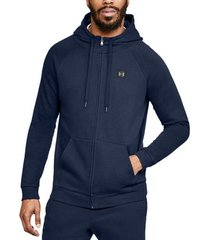 sweater under armour rival fleece fz hoodie 1320737-408