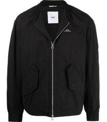oamc black cotton jacket