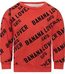 gardner and the gang red banana lover sweatshirt