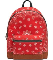 classic bandana backpack, red