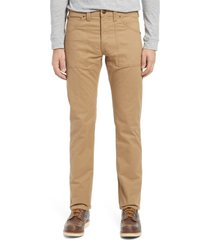 lee regular straight leg utility pants, size 36 x 32 in oscar khaki at nordstrom