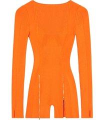le body yerù jumpsuit orange