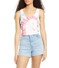 women's sundown by splendid tie dye crop tank