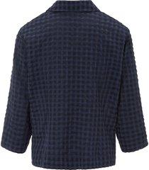 blouse met 3/4-mouwen van mayfair by peter hahn blauw