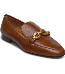 jessa 20mm loafer loafers låga skor brun tory burch