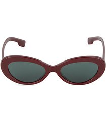 54mm oval sunglasses