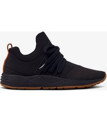 sneakers raven nubuck s-e15 black brown gum women