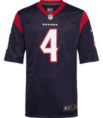 houston texans nike game team colour jersey - player t-shirts short-sleeved blå nike fan gear