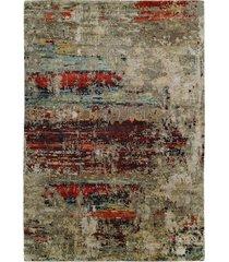 natori lhasa- sunset rug, silk, size 2.6 x 10 natori
