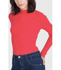 sweater io tipo beatle rojo - calce ajustado