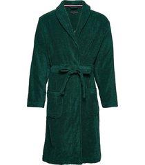 tommy towelling robe ochtendjas badjas groen tommy hilfiger