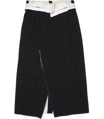 ambush folded waist skirt