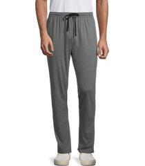 mister men's drawstring lounge pants - charcoal - size xxl