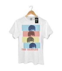 camiseta bandup the beatles headshot