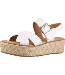 sandalia cruzada blanca fagus