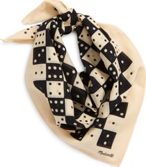 madewell bandana in sandy stone dominos at nordstrom
