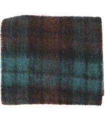 doppiaa check scarf