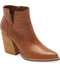 women's kelsi dagger brooklyn vale pointed toe bootie, size 8.5 m - brown