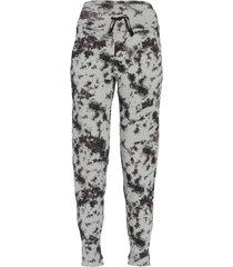 dyi women's essential jogger pants - black photo tie dye - x-small cotton