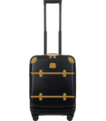 men's bric's bellagio 21-inch wheeled carry-on - black