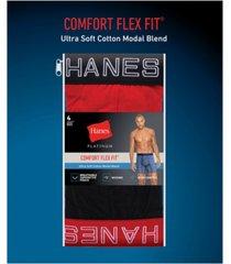hanes men's 4-pk. boxer briefs