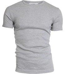 semi bodyfit t-shirt r-neck grey mãªlã©e