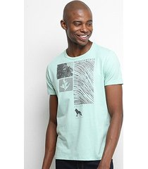 camiseta acostamento aleric islands resort masculina