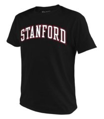 retro brand stanford cardinal men's arch t-shirt